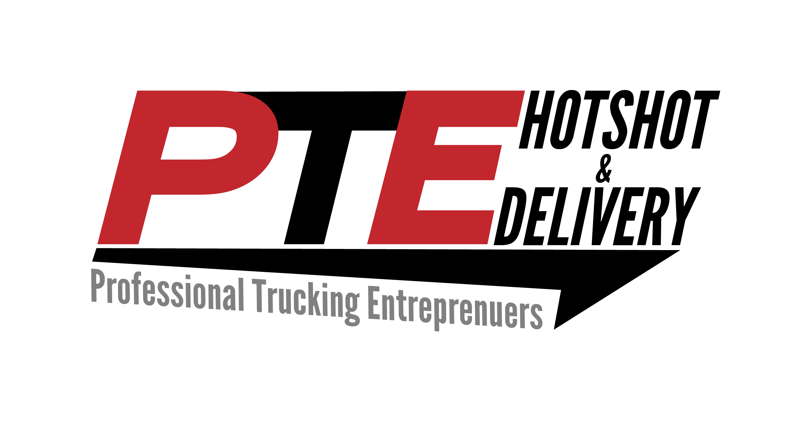 Custom Logo Design for PTE Hotshot and Delivery